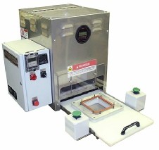 Validatable medical blister and tray heat sealer