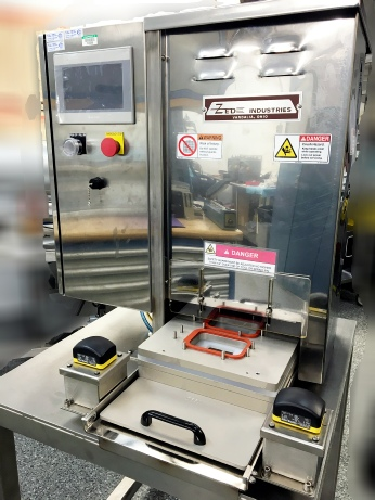 Ssterile medical packaging - aspectic packaging with medical validatable tray heat sealer