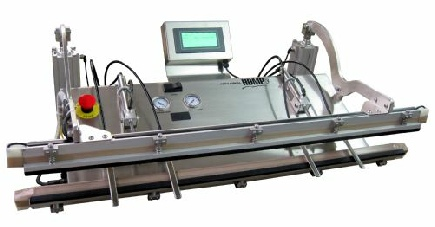 Large Medical validatable vacuum heat sealer for medical device packaging