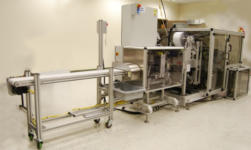 Oral Thin Films packaging equipment - oral dissolvable thin films