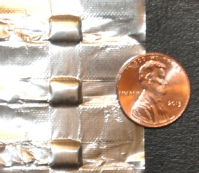 small zero head space foil pouches for microfluidic applications